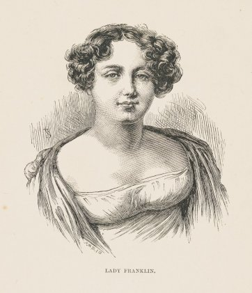 Lady Franklin, n.d. by A. Romilly, Unknown, J & S