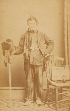 William Francis King, 'The Flying Pieman', c. 1869 by Joseph Davis
