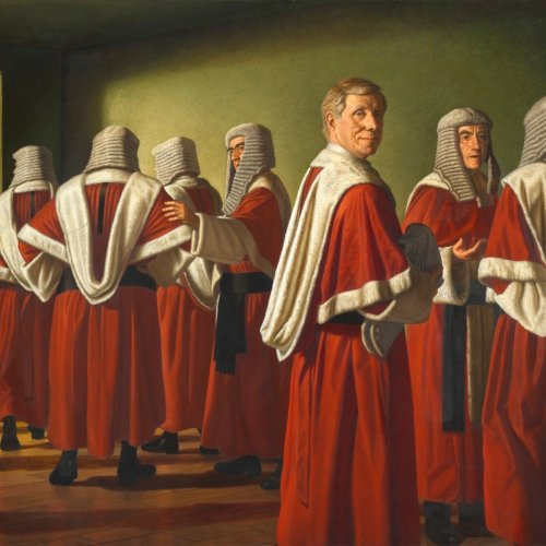 Radical Restraint   Justice Michael Kirby, 1998 by Ralph Heimans
