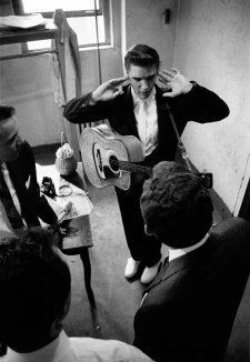 Backstage, The Mosque, Richmond, June 30, 1956 by Alfred Wertheimer