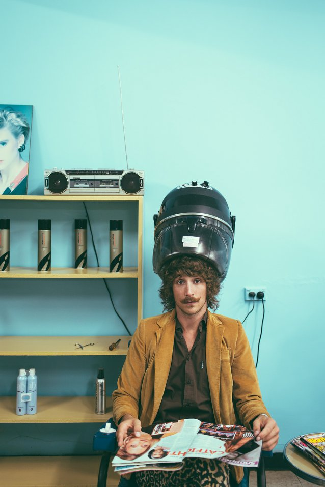 Ryder Jack Susman in a Williamstown hairdresser by Abigail Varney