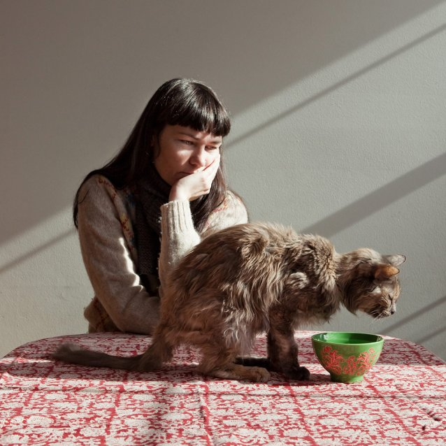 Yhonnie and Indiana, 2012 by Janelle Low