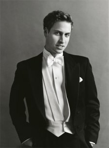 Prince William of Wales, by Mario Testino, 2003 publ. September 2003.