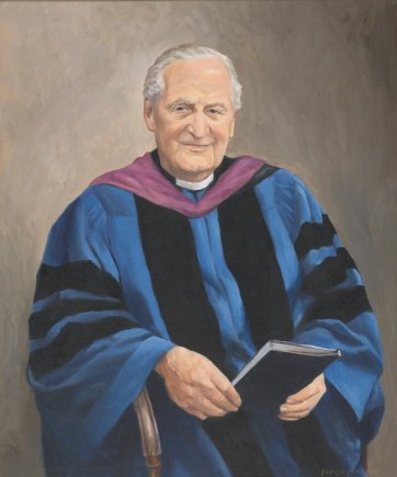 The Reverend Dr. Gordon Powell AM.MA.BD, c. 1986 by Donald Cameron