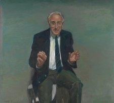 Portrait of Professor Graeme Clark, 2000 by Peter Wegner