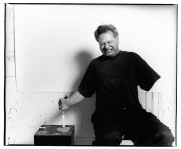 Mike Parr, 1995 by Greg Weight