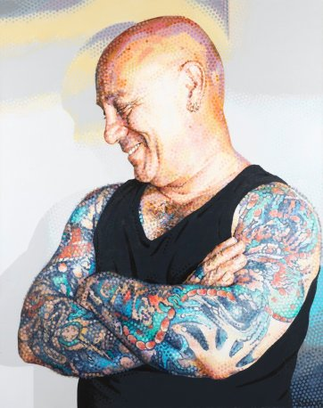 Angry Anderson, 2006 by Sally Robinson