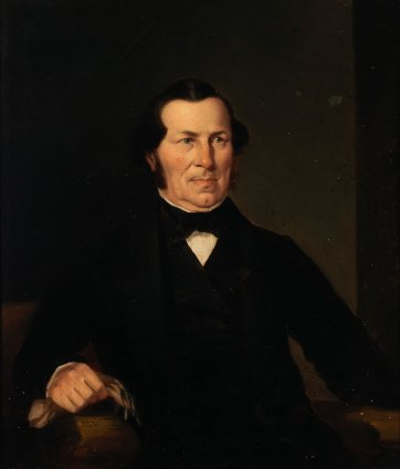 Jeremiah Ware, c.1854 by Robert Dowling