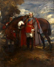 King Edward VII, 1910 by George Lambert
