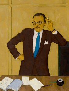 Portrait of Tam Purves, 1958 by John Brack