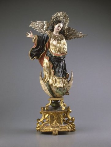 Virgin of Quito, second half 18th century by an unknown artist