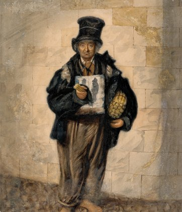 Billy the match man, Liverpool, 1844 by John Dempsey