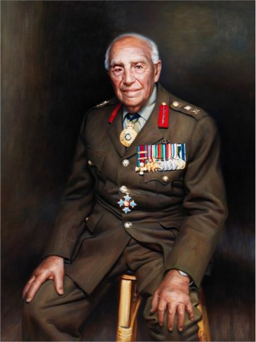 Major General Paul Cullen, 2002 by Mathew Lynn