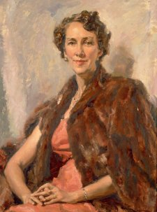 Senator Dame Nancy Buttfield DBE, 1958 by Ivor Hele