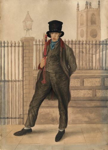 Policeman, Scarborough, 1825 by John Dempsey