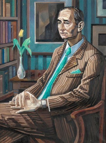 Portrait of Henry Vernon Crock AO, 1988 by David Smith
