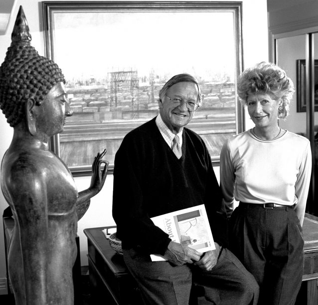 Gordon and Marilyn Darling, 1994 by Francis Reiss and June Orford