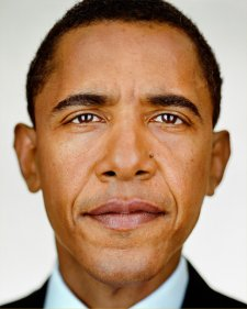 Barack Obama, 2004 by Martin Schoeller