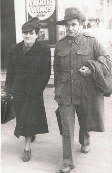 Vilmos and Clara Geroe in Melbourne, 1940s