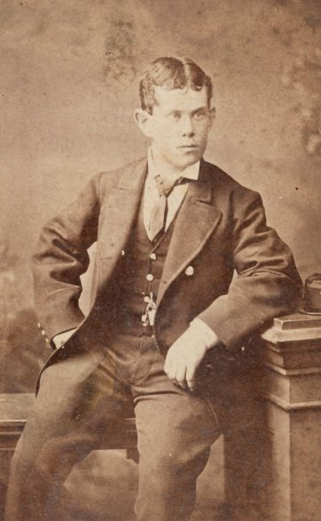 Thomas Pearce, c. 1878 by The Photographic Society of Victoria, Melbourne