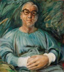Dr Edward MacMahon, 1959 by William Dobell