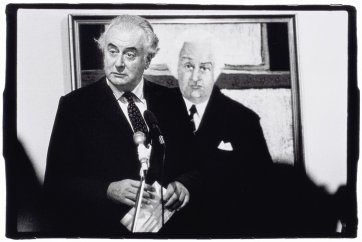 Gough and John, 1981 by Peter van der Veer