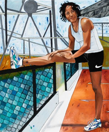 Cathy Freeman, 1999 by Kerrie Lester