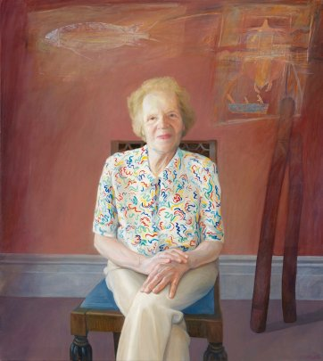 Dr Alice M. Moyle, 1998 by Chris Gentle