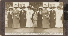 Great Suffragette Demonstration in London, 1911 by Rose Stereograph Company
