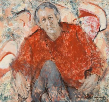 Sketch for portrait of Tom Uren, 1972 by Clifton Pugh