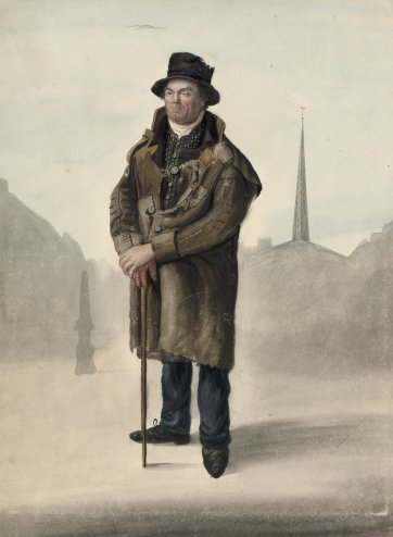 Old soldier, Hadleigh by John Dempsey