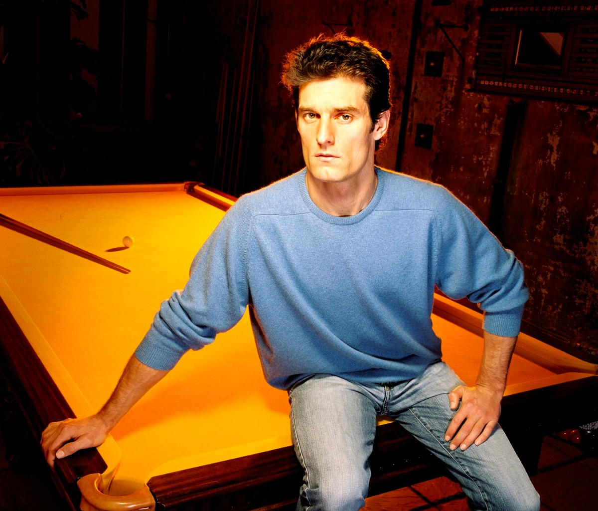Mark Webber In The Potting Sheds At The Grove