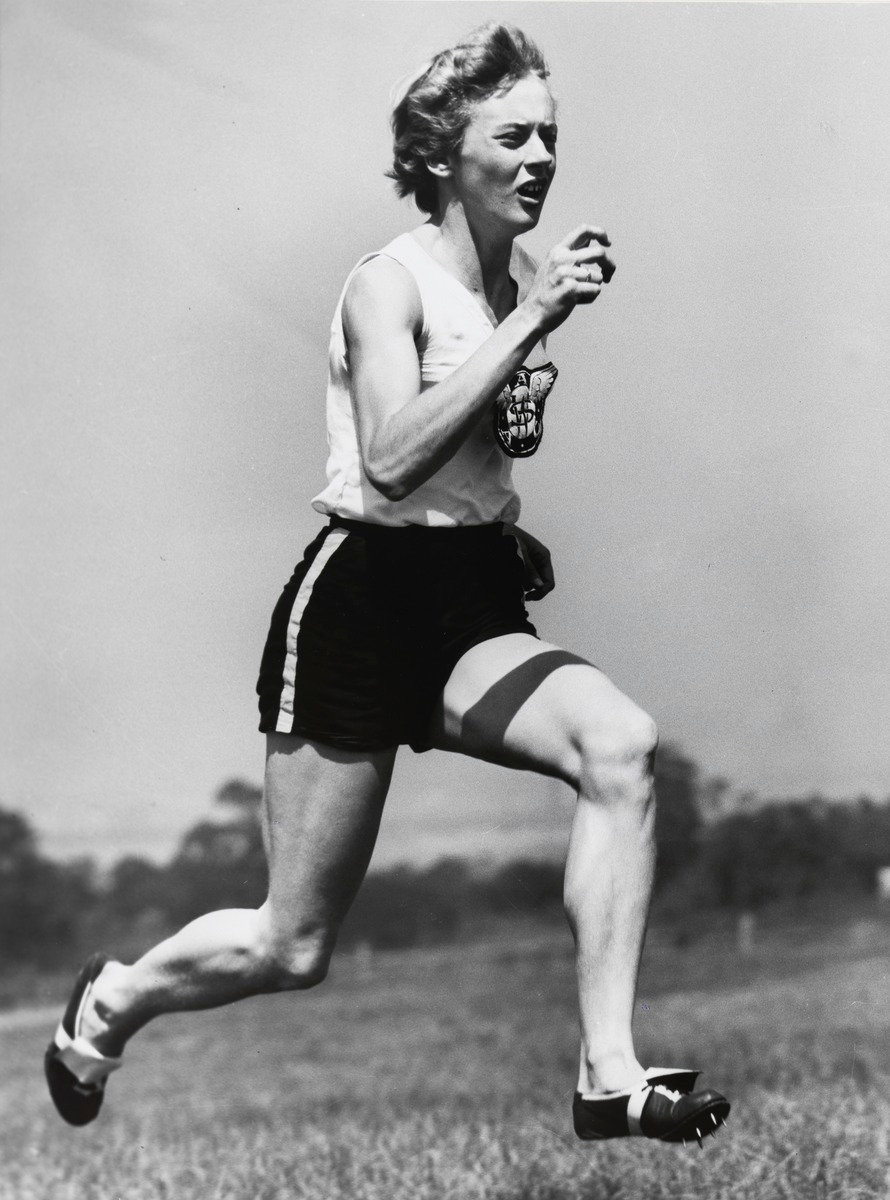 Betty Cuthbert 4 Olympic medals