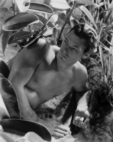 Johnny Weissmuller, 1932 by Cecil Beaton