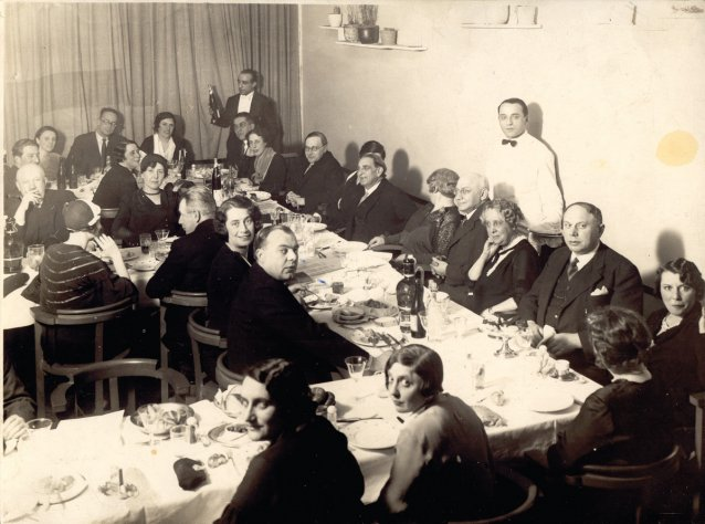 Sandor Ferenczis 50th birthday dinner, Budapest, 1923
