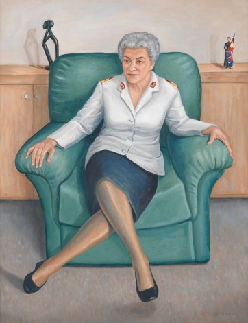 General Eva Burrows AC AO, 2001 by Gabrielle Martin