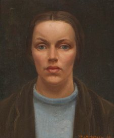 Self portrait, 1934 by Nora Heysen