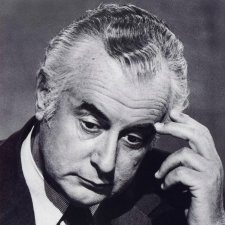 Gough Whitlam, 1975 (printed 2010) by Bill Mcauley