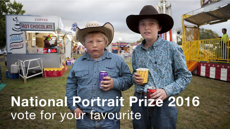 National photographic portrait prize vote for your favourite