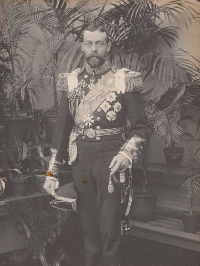 Duke of Cornwall and York (later King George V)