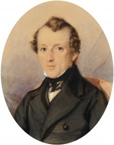 Edward Paine Butler, c. 1845 by Thomas Griffiths Wainewright