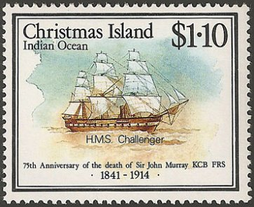 Christmas Island stamp, issued 1989