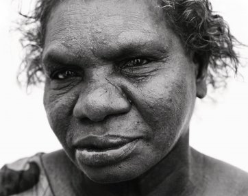 Wik Elder, Gladys, from the Returning To Places That Name Us series, 2000 Ricky Maynard