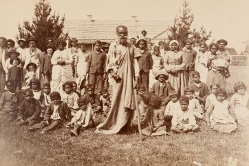 The Aboriginal community of Lake Tyers, Gippsland, c. 1890 an unknown artist