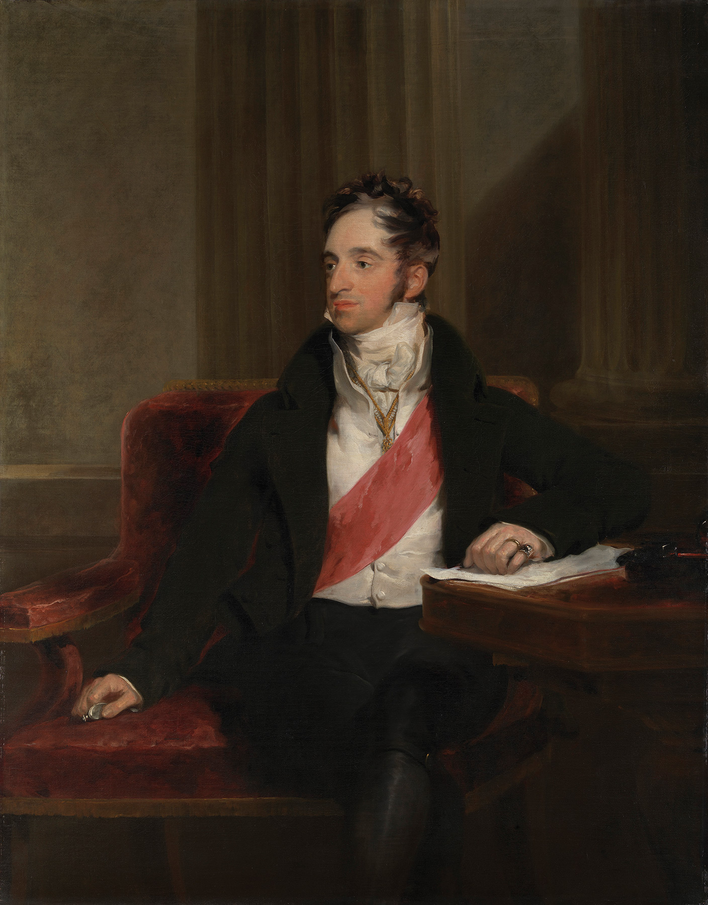 Karl Robert, Count Nesselrode, 1818 by Sir Thomas Lawrence