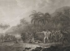 The Death of Captain Cook, 1784 John Webber, Francesco Bartolozzi, William Byrne