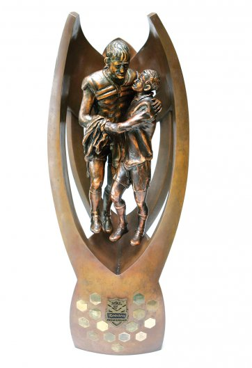 National Rugby League Telstra Premiership Trophy