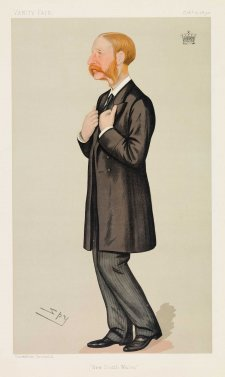 """New South Wales"" Earl of Jersey Victor Albert George Child-Villiers (Image plate from Vanity Fair), 1890 Sir Leslie Ward"