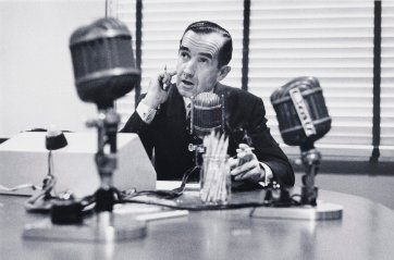 Ed Murrow, New York, 1956 (printed 2000) by David Moore