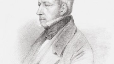 Robert Brown, c. 1835 Dario Castellini after Carlo Liverati